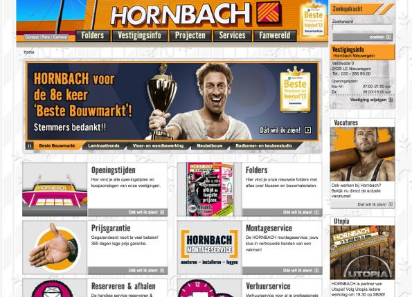 Voorbeeld Hornbach