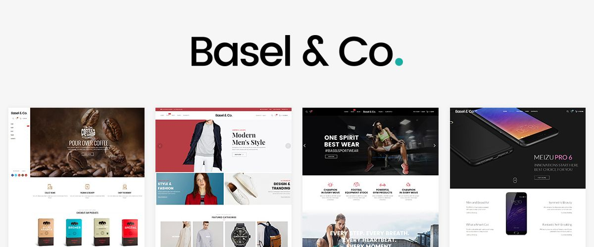 WooCommerce-thema: Basel