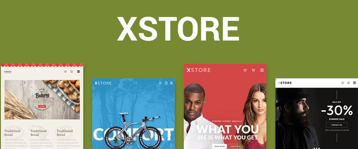 WooCommerce-thema: XStore