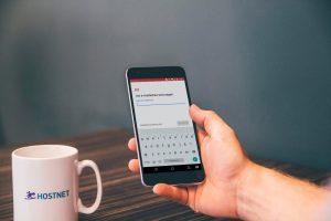 Je e-mail instellen op een Android-smartphone