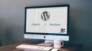 Wat is een pagina in WordPress?