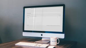 Een bericht in WordPress