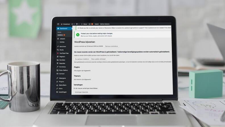 Bug in WordPress-versie 4.9.3: auto-updatefunctie uitgeschakeld
