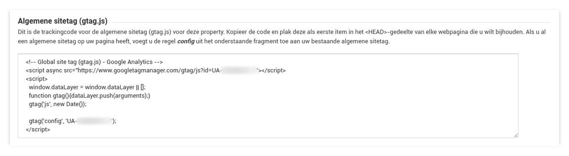 Anonimiseer het IP-adres in Google Analytics