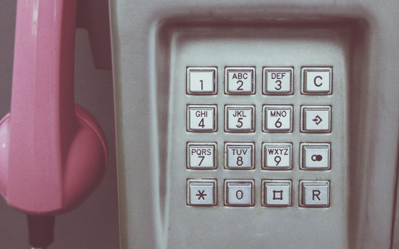 Ingewikkeld, geautomatiseerd telefoonmenu