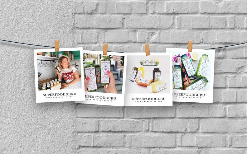 Jojanneke verkoopt 'cold pressed juices' in haar webshop Superfoodguru.shop
