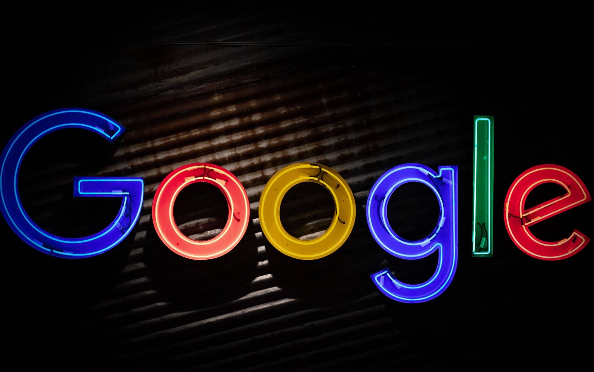 Google letters