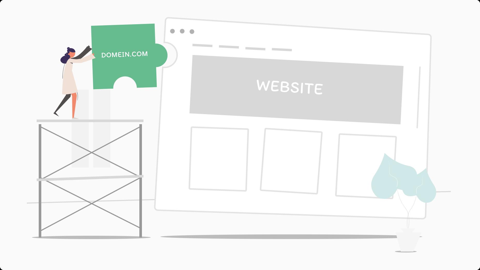Domeinnaam website